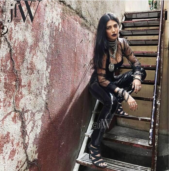 Shruti Haasan On JFW Magazine Photoshoot Pics