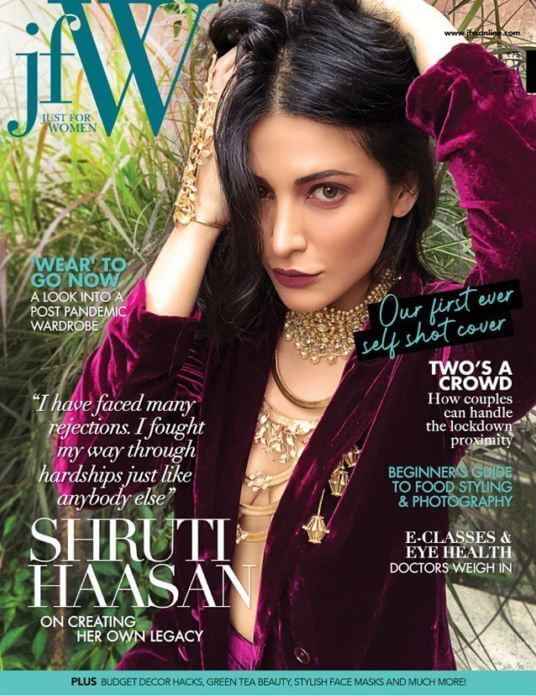 Shruti Haasan On JFW Magazine