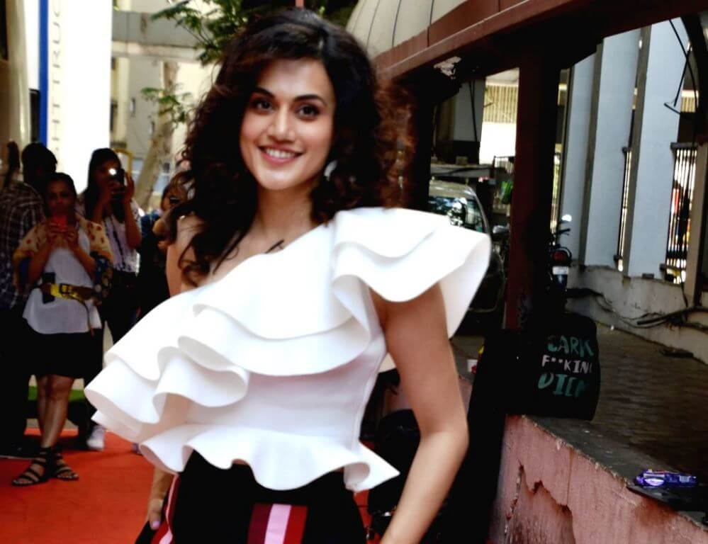 Tapsee Pannu At Vogue BFF's Season 3 With Vicky Kaushal
