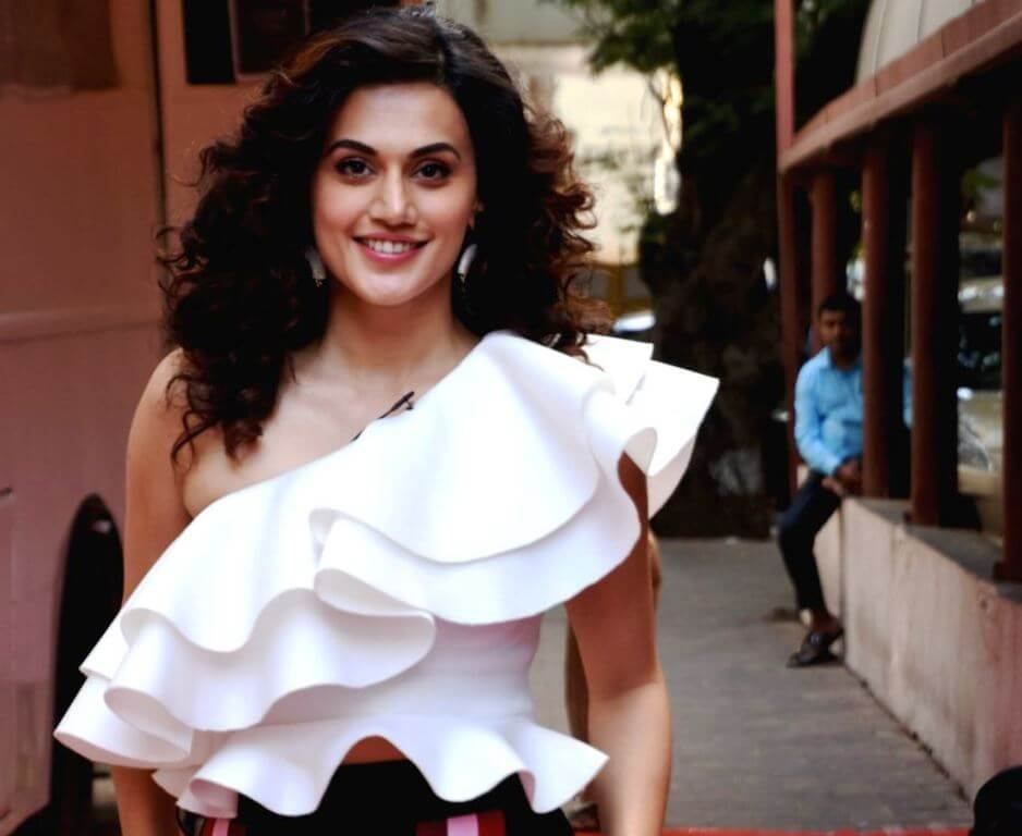 Tapsee Pannu At Vogue BFF's