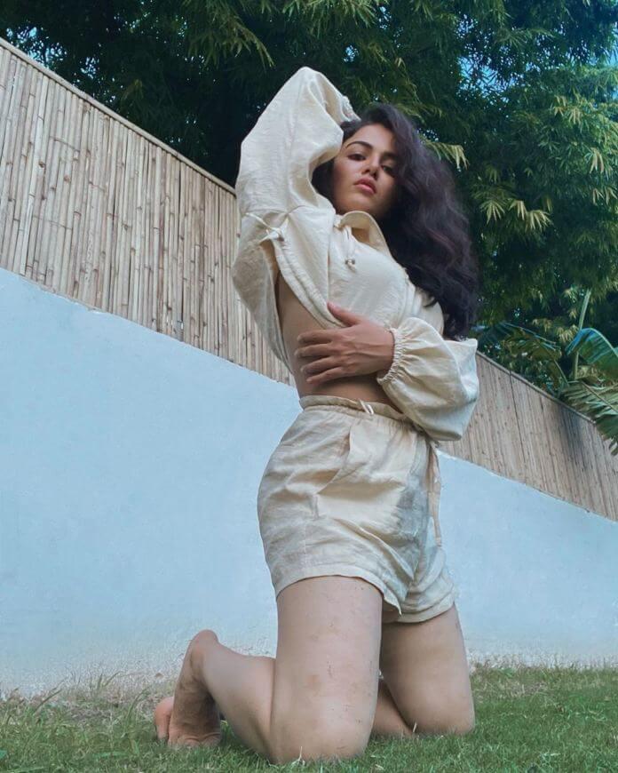 Indian Actress Wamiqa Gabbi Hot Poses