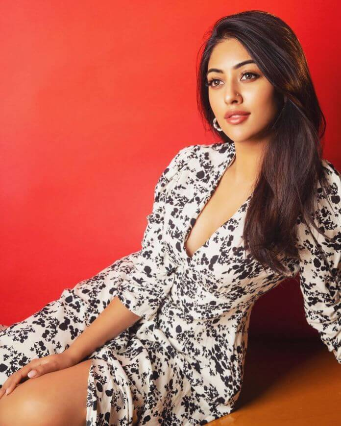 Anu Emmanuel Spotted Exposing For Latest Photoshoot