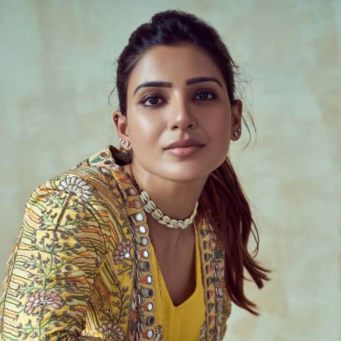 Samantha Akkineni Glam Stills At Rana & Miheeka Wedding-