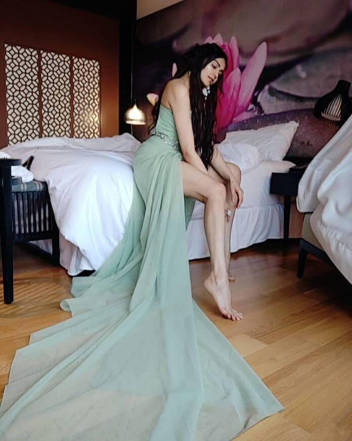 Adah Sharma In Designer Dress