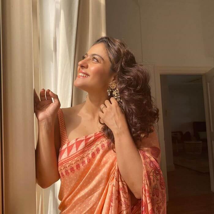 Actress Kajol Exclusive Photos In Saree