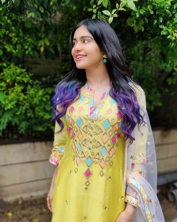Adah Sharma In Churidar