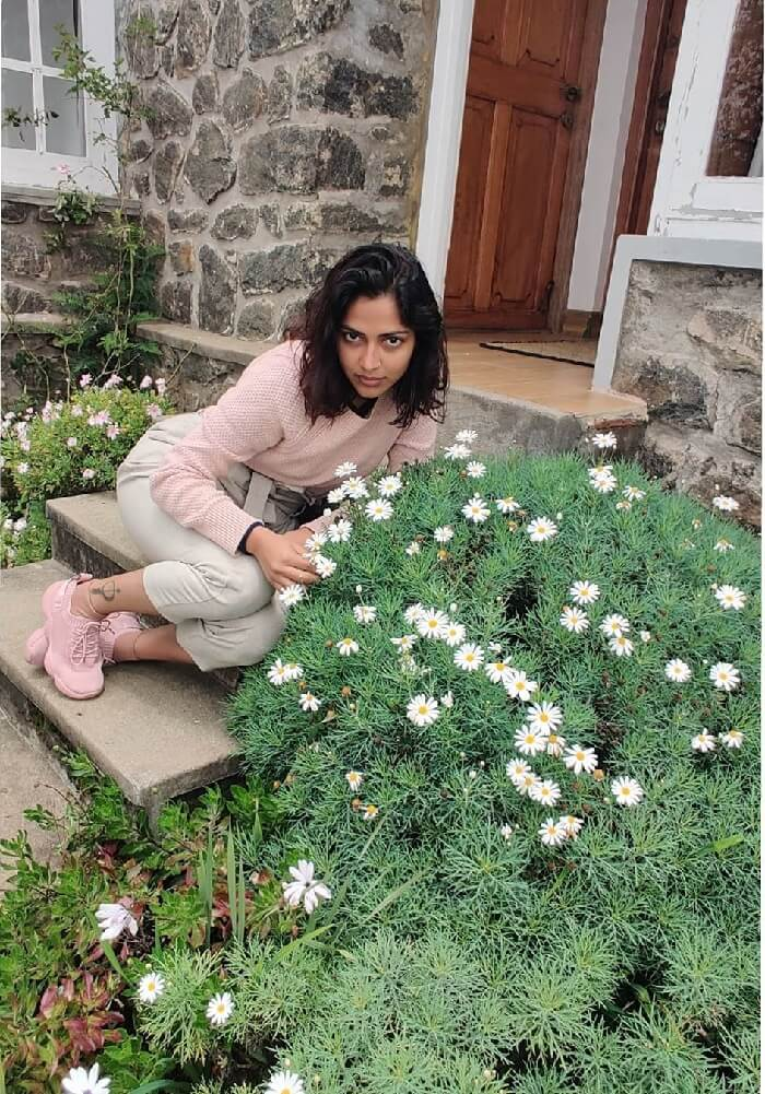 Amala Paul At Garden