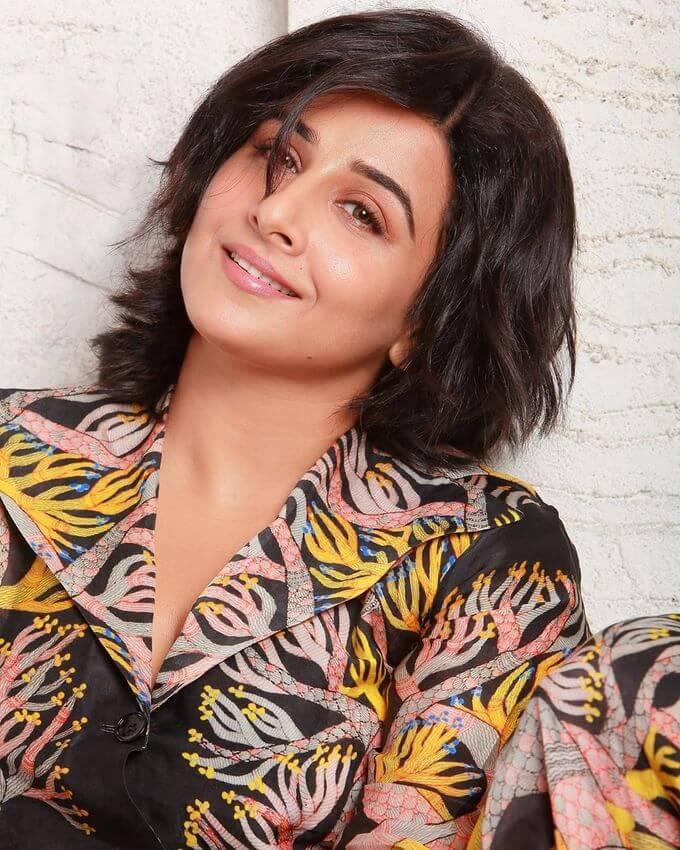 Bold Actress Vidya Balan Filmfare Magazine Photoshoot Pics