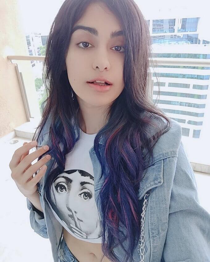 Adah Sharma In T-shirt