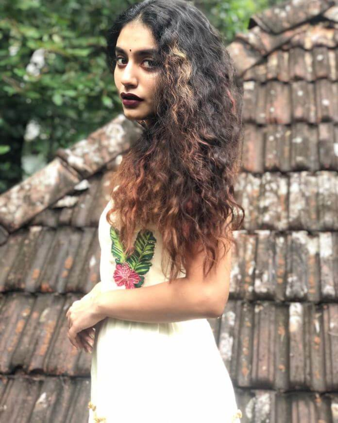 Malayalam Actress Priya Prakash Varrier Latest Photoshoot Pics