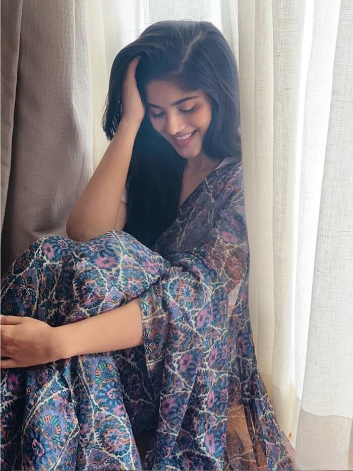 Megha Akash looks Classic