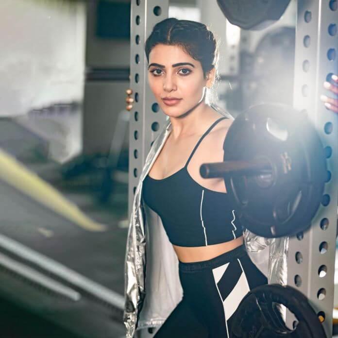 Samantha Akkineni Workout Stills