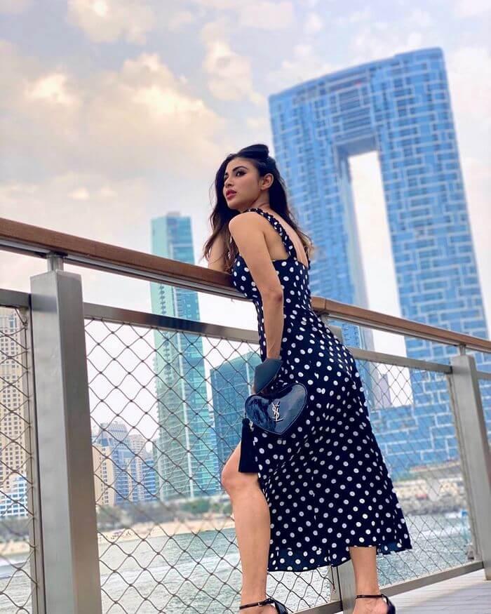 TV Artist Mouni Roy Latest Photos In Skirt