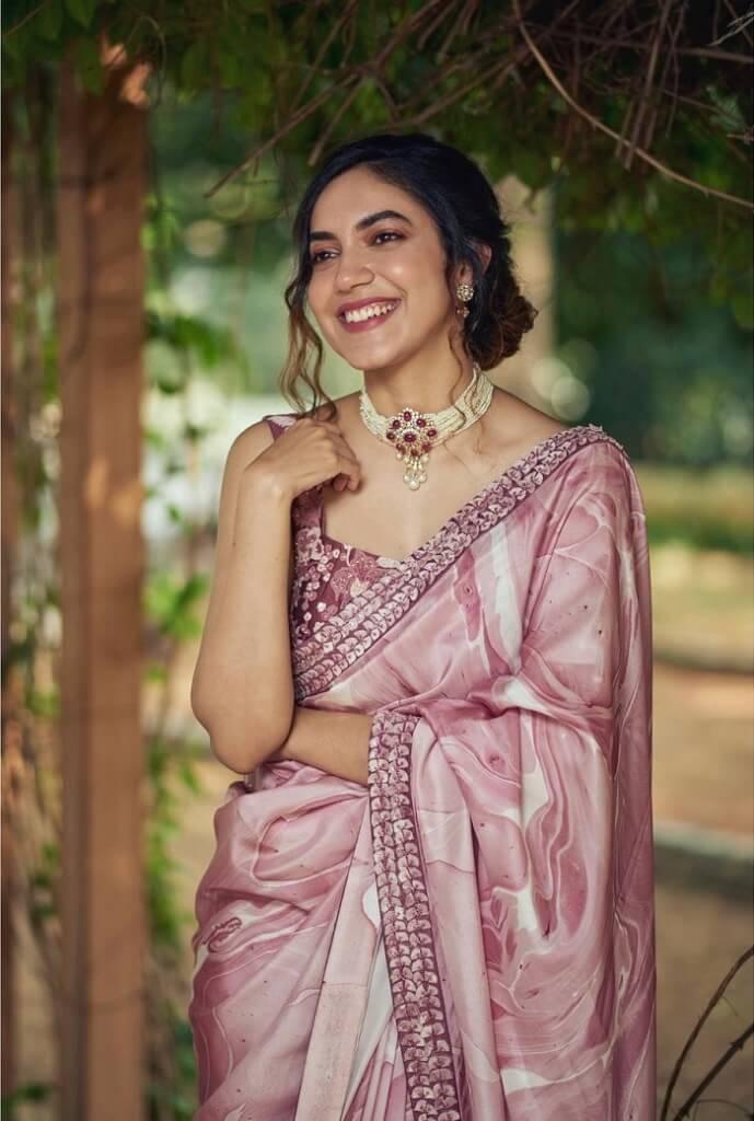Ritu Varma In Saree