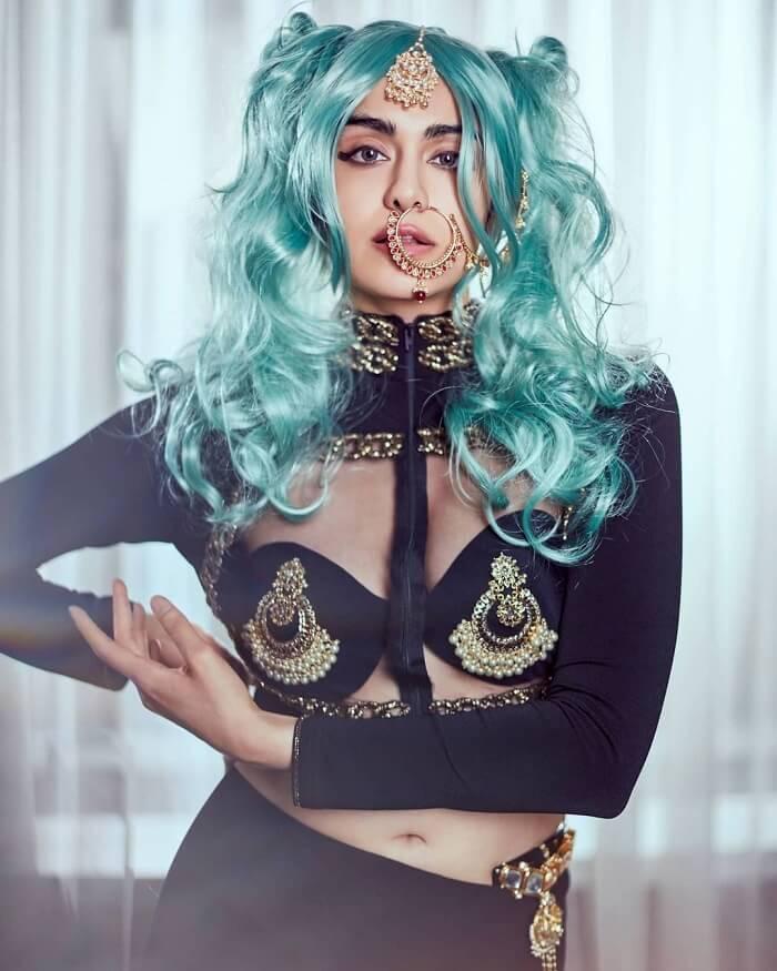 Adah Sharma Stylish Photos In New Hair Style