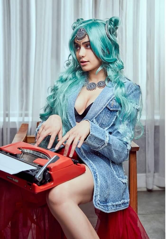 Adah Sharma In New Hair Style