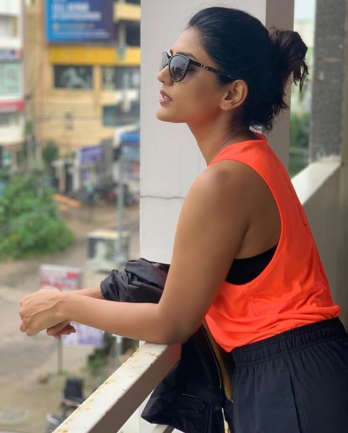 Eesha Rebba Photos Papped In Gym Outfit