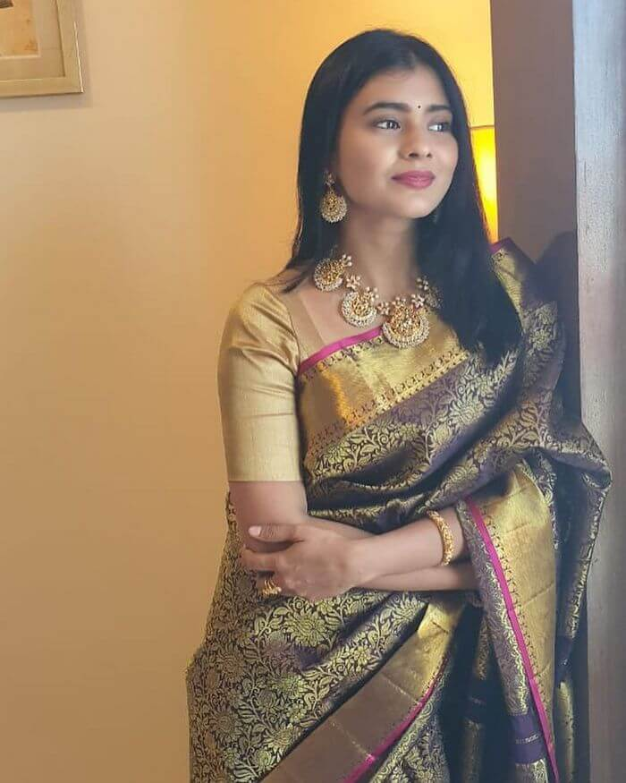 Hebah Patel Traditional Pics In Saree