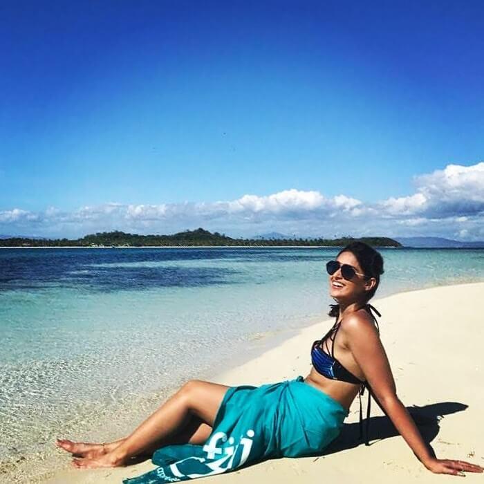 Ileana D'Cruz Photos At Beach