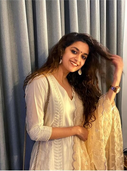 Keerthi Suresh Latest Clicks