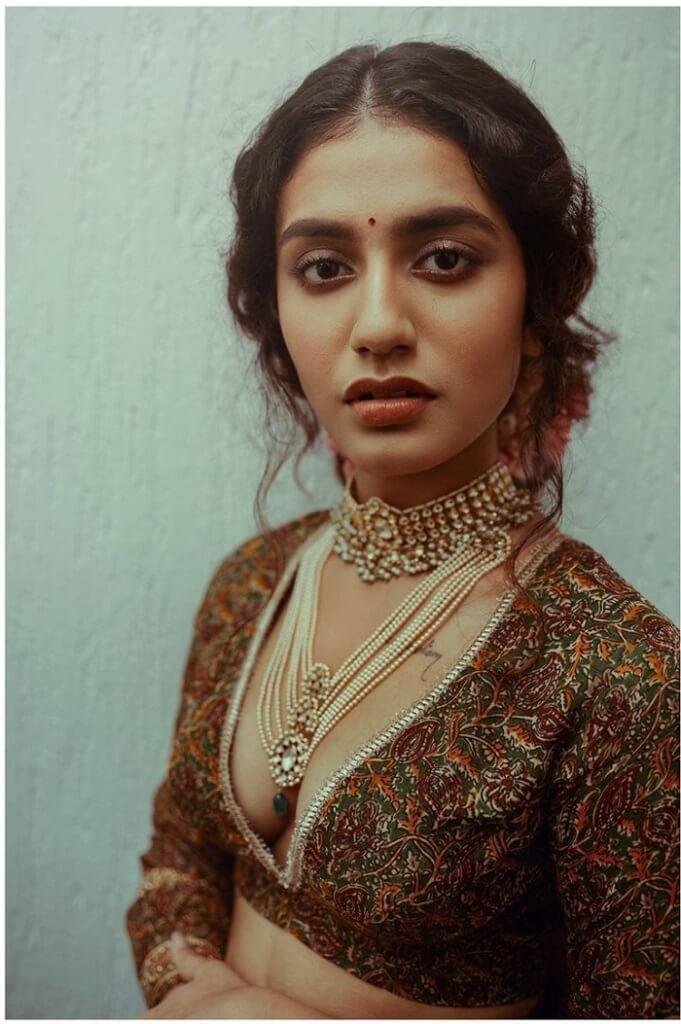 Priya Prakash Varrier Cleavage