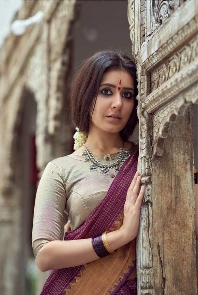 Rashi Khanna Exclusive Pictures In Saree