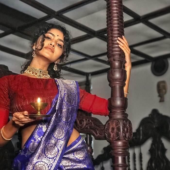 Anupama Parameswaran Diwali Photoshoot