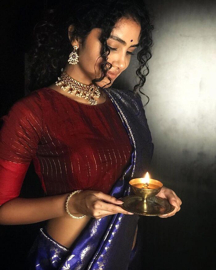 Anupama Parameswaran In Lehenga