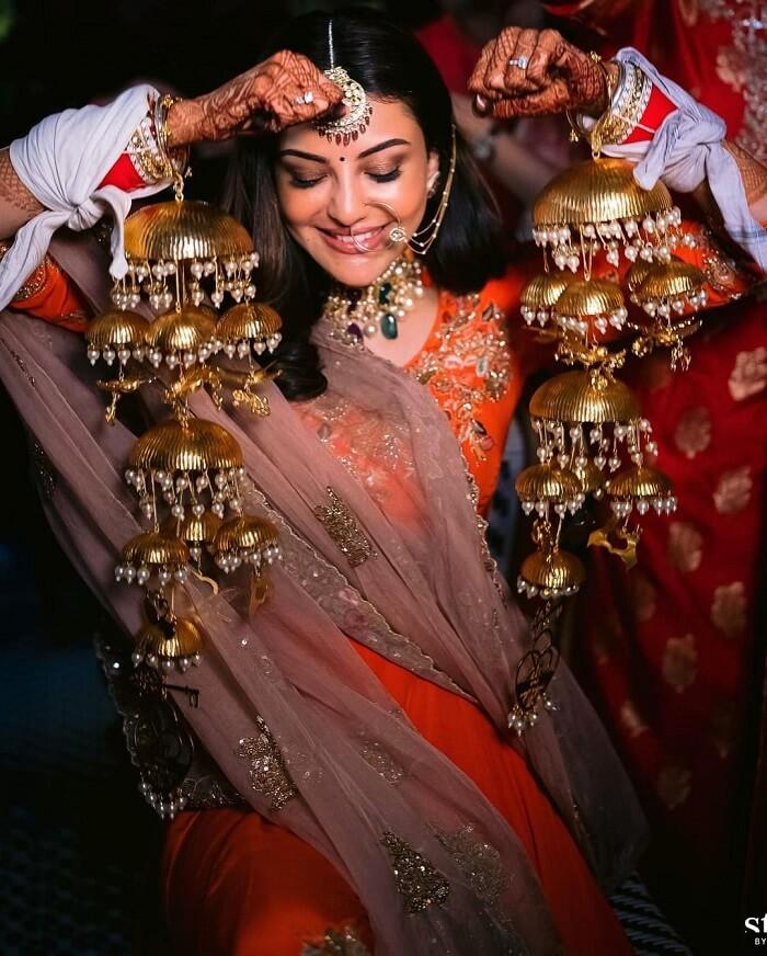 Kajal Agarwal Marriage Reception