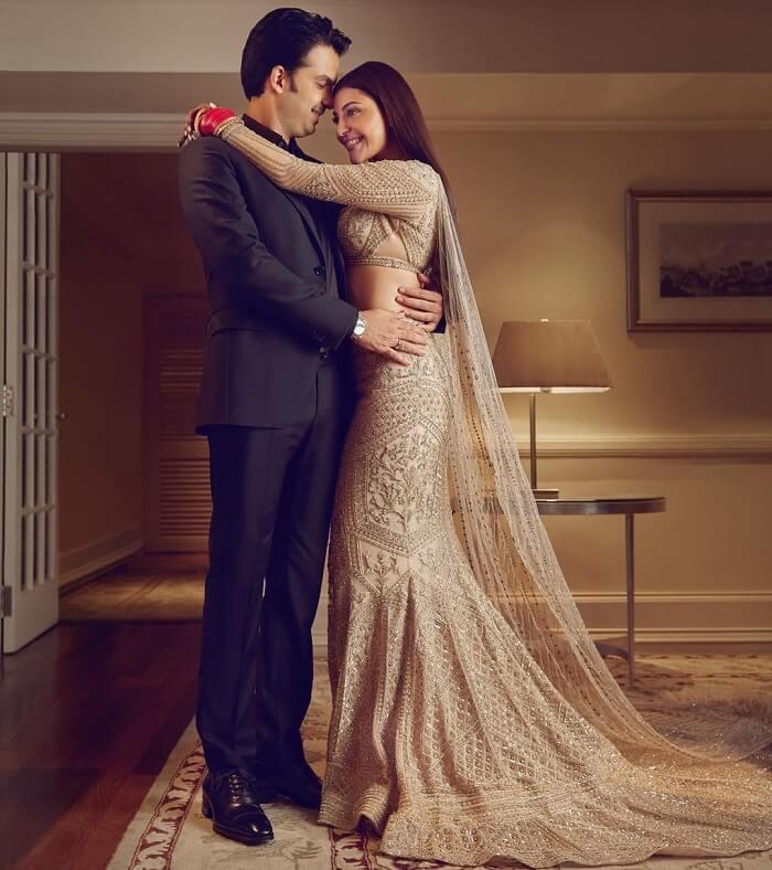 Kajal Agarwal With Her Husband