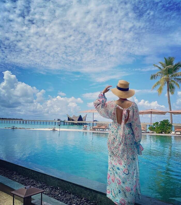 Samantha Vacation Pics From Maldives