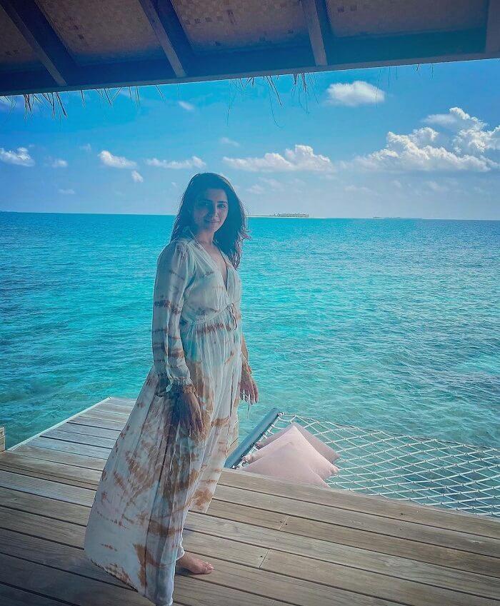 Samantha Maldives Pics