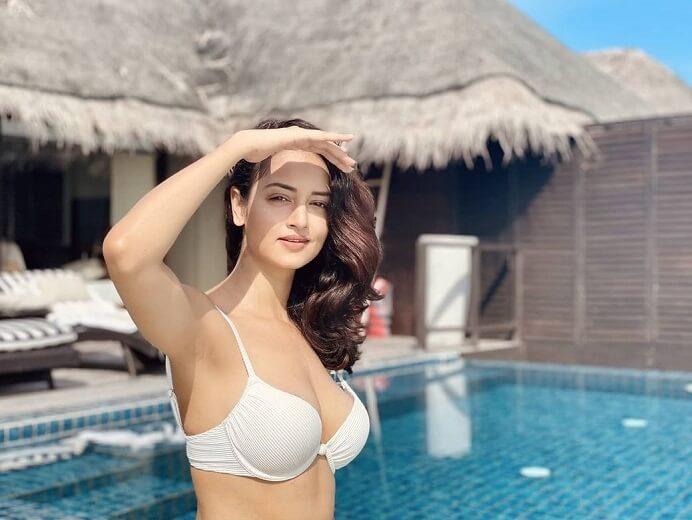 Actress Shanvi Sri Hot Bikini Photos