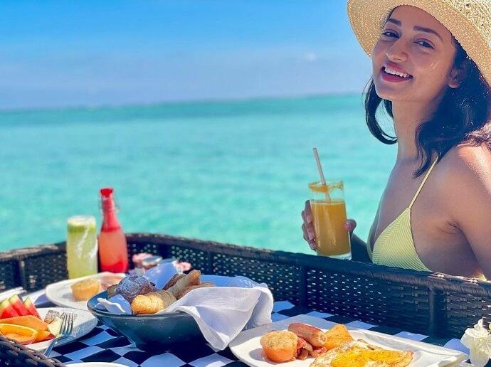 Shanvi Sri Bikini Photos