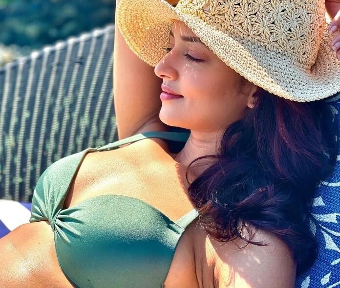 Shanvi Sri Hot Bikini