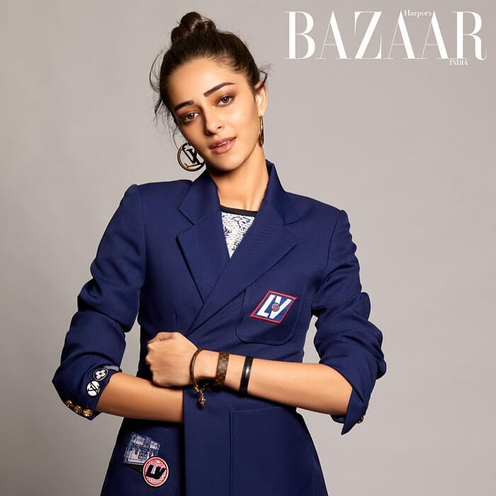 Ananya Panday Harper's Bazaar Magazine Photoshoot Pics