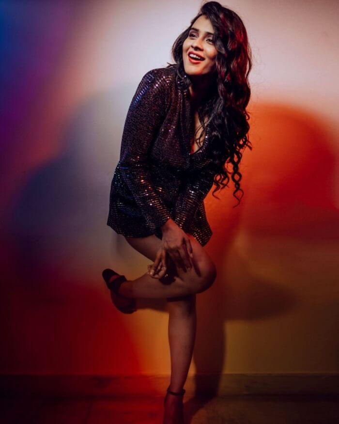 Hebah Patel In Weekly Magazine