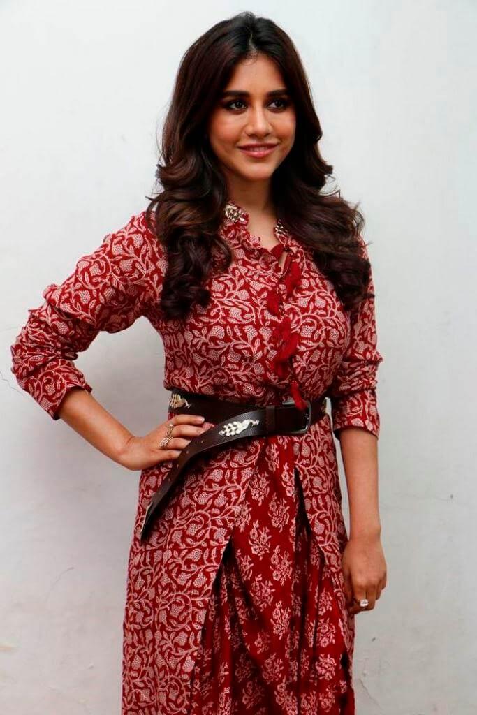 Nabha Natesh At Thanks Meet
