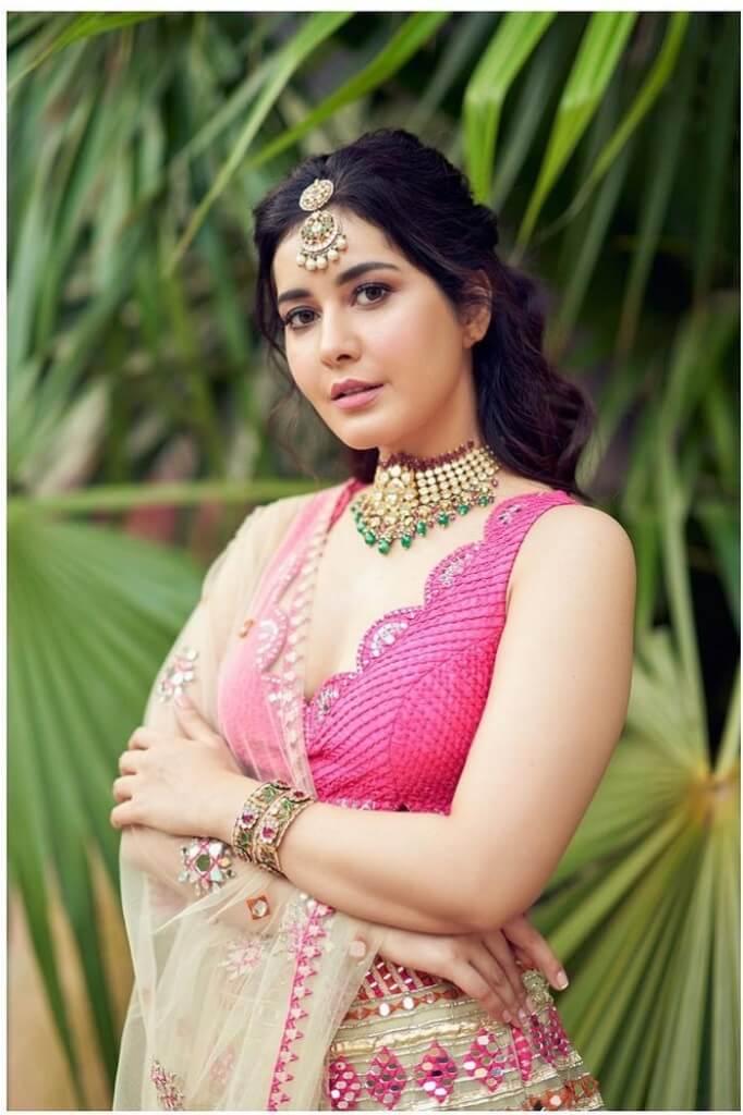 Rashi Khanna Navel Photos