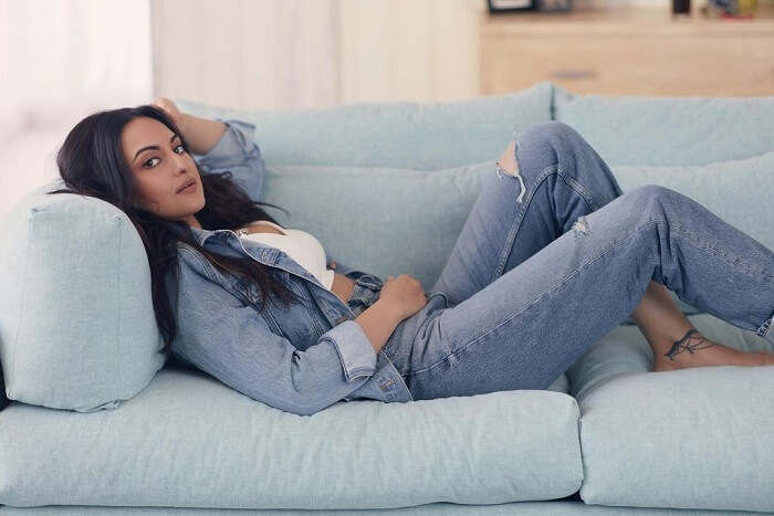 Sonakshi Sinha In Modern Outfit