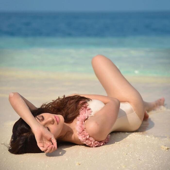 Vedhika Bikini Photos
