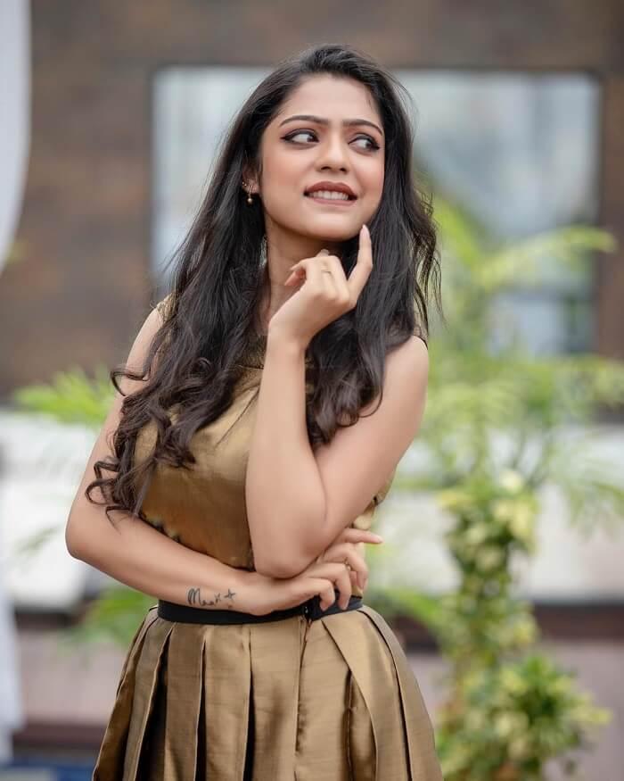 Actress Varsha Bollamma