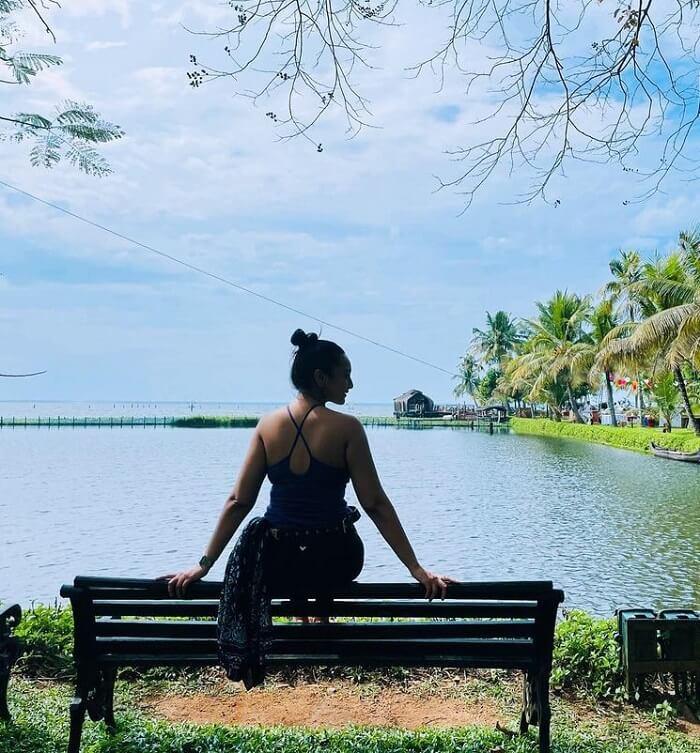 Heroine Sonakshi Sinha Photos From Kerala Vacation