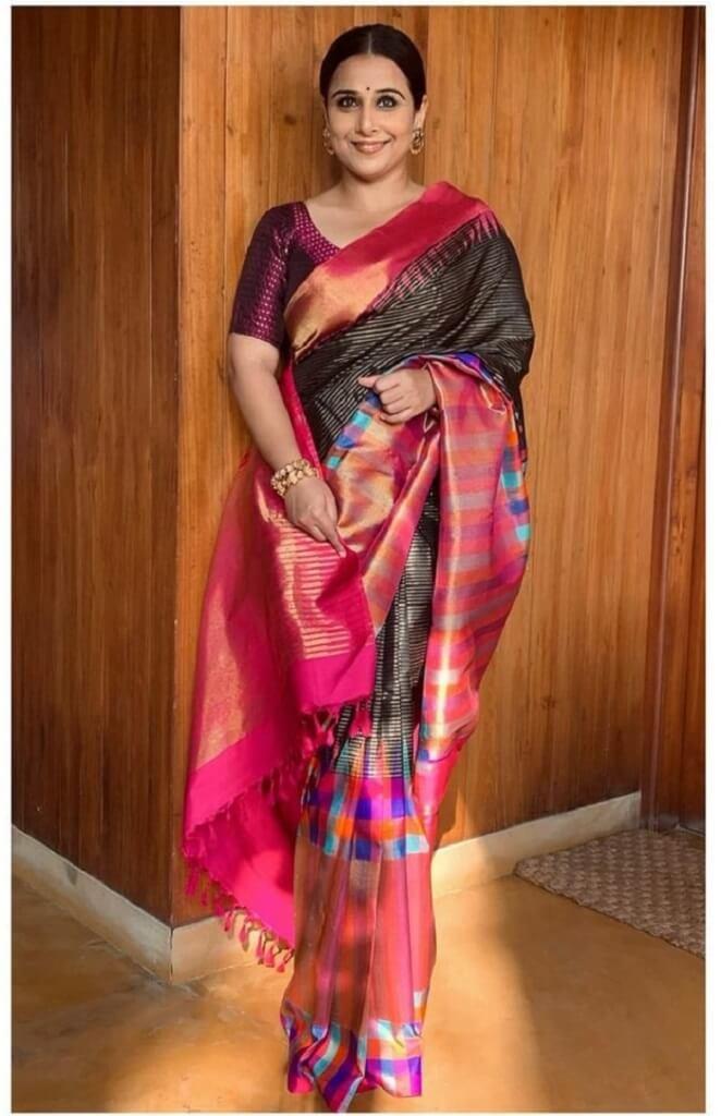 Vidya Balan In Saree