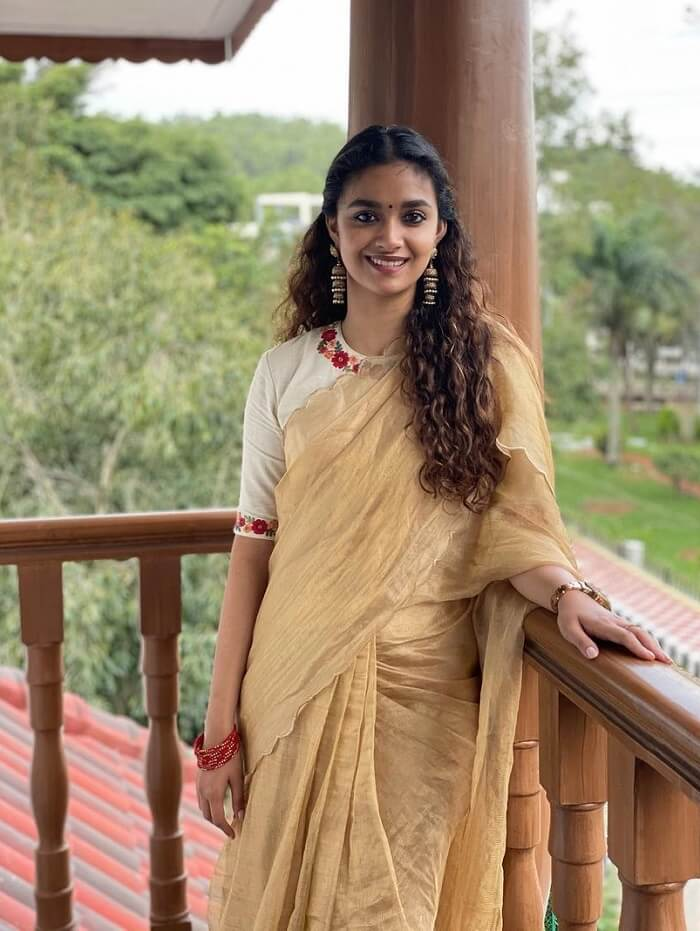 Keerthy Suresh Pongal Pics