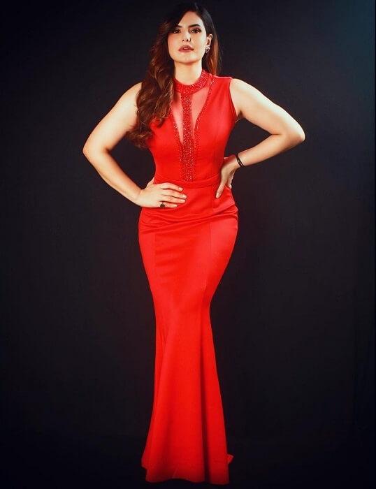 Zareen Khan At OTT Awards 2020