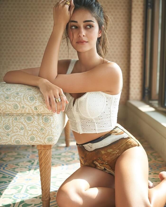 Ananya Panday Stills From Liger Movie Shooting