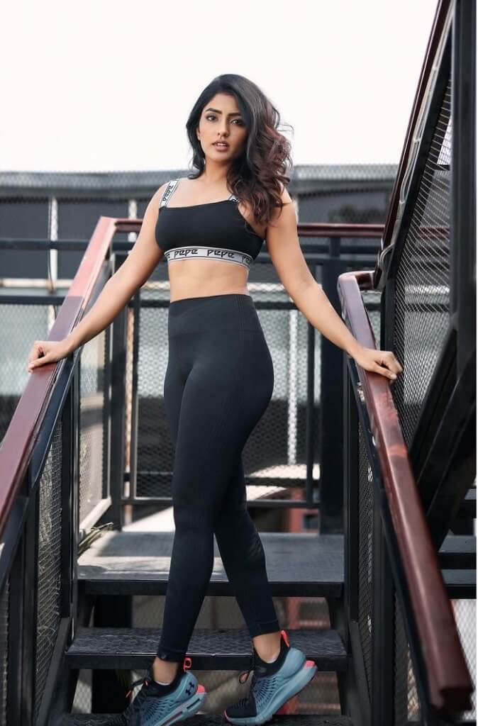 Eesha Rebba In Hot Gym Wear Dress