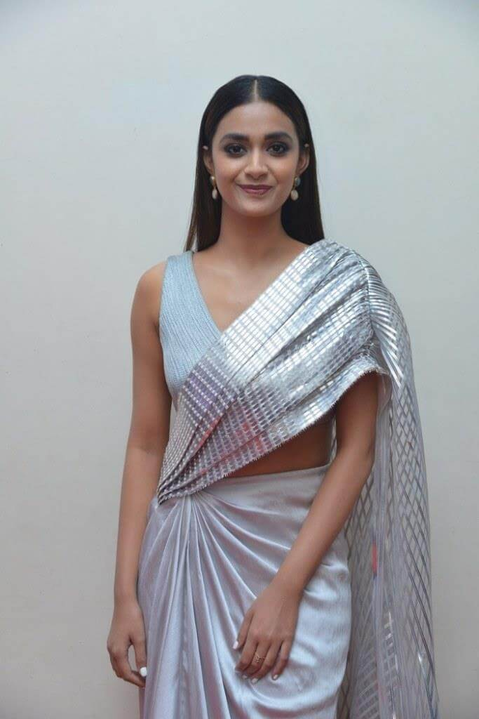 Keerthy Suresh At Pre-Release Event